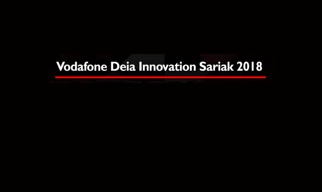 Vodafone Deia innovacion sariak 2018
