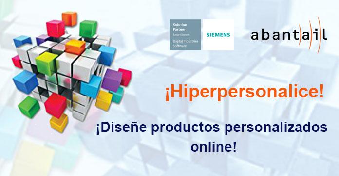 Abantail Siemens diseña producto personalizado online_1